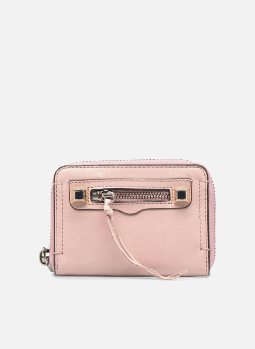Wallets & cases Rebecca Minkoff MINI REGAN ZIP WALLET Pink detailed view/ Pair view